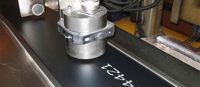 Inkjet printer for rubber tread marking - REA JET RPS - REA JET DOD 2.0