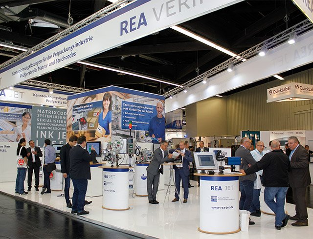 Coding and marking - trade shows - REA