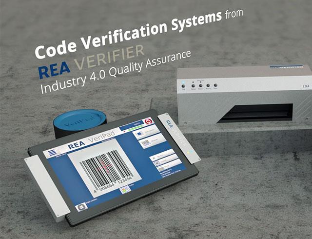 Code Verification Systems for 1D and 2D codes   REA VERIFIER